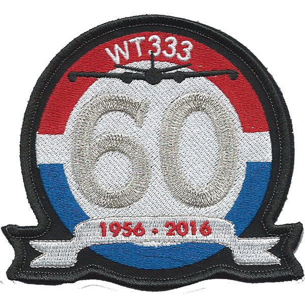 Canberra WT333 - 60th Anniversary mit Velcro