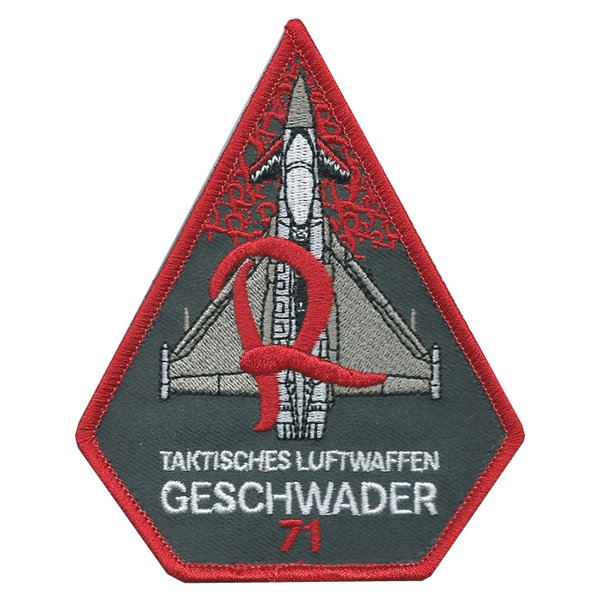 "Patch ""Taktisches Luftwaffengeschwader 71"" Triangle  Patch"