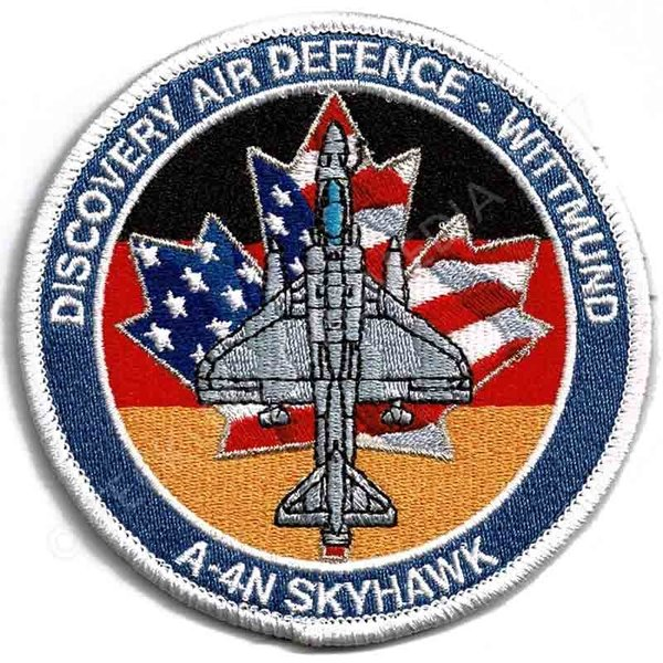 Discovery Air Defence Wittmund USA Flag