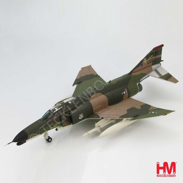 Hobbymaster F-4F Phantom II 69-7582 563 TFS / 37th TFW George Air Force Base, USAF