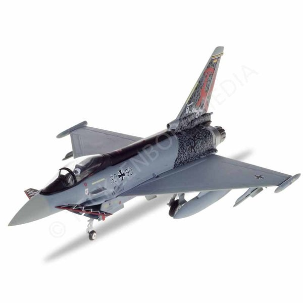 "Herpa Eurofighter EF2000 Typhoon, 30+90 ""Richthofen"",  TaktLwG 71, Luftwaffe"