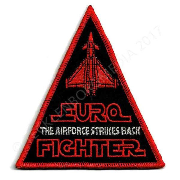 "TaktLwG 71 ""Eurofighter - The Airforce Strikes Back"" Triangle mit Velcro"